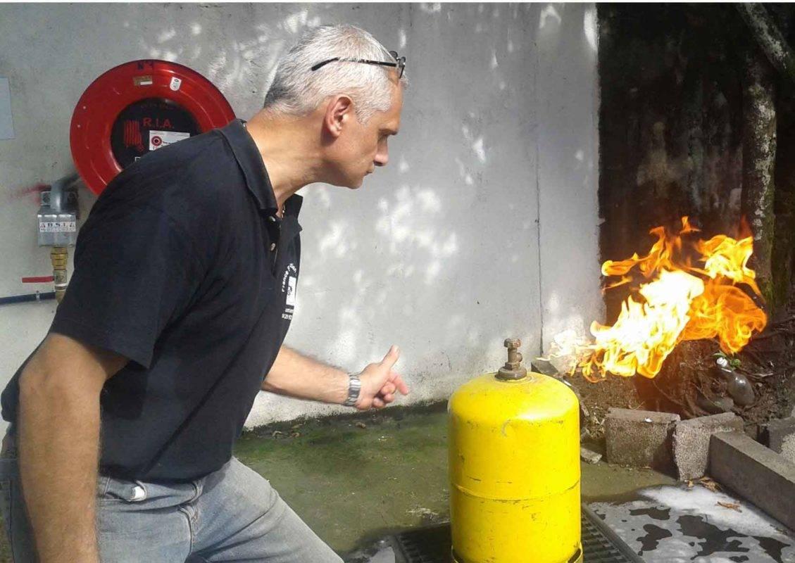 securite incendie, exercice feu SSIAP 1