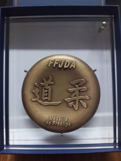 Médaille de préstige de la FFJDA à FFSR