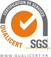 Logo agrément SGS qualicert