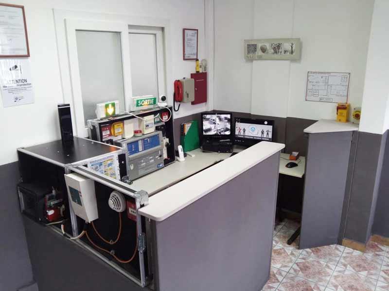 PC de sécurité du centre de formation France Formation Sécurité Réunion