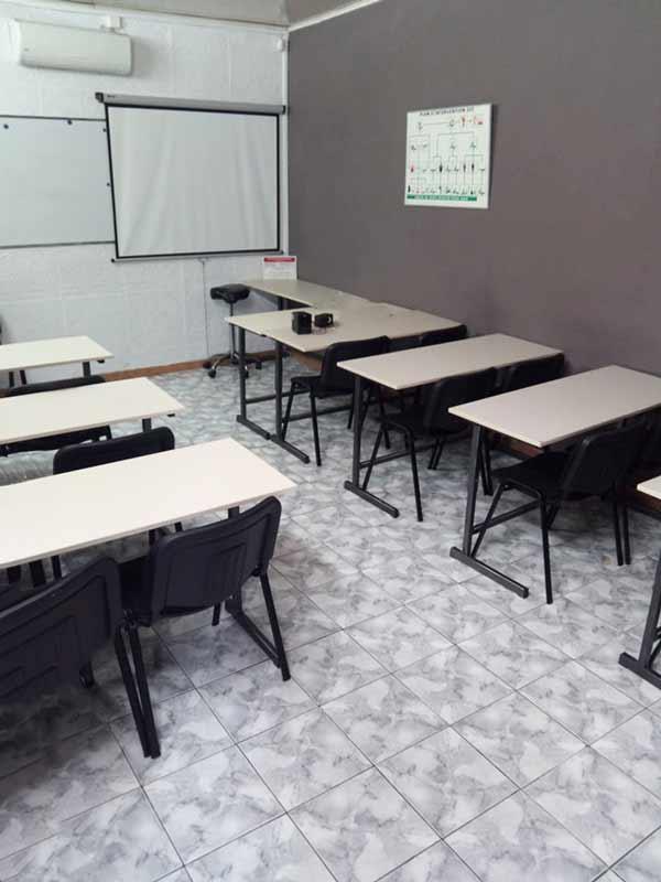 Présentation de la salle de cours numéro 1 de FFSR