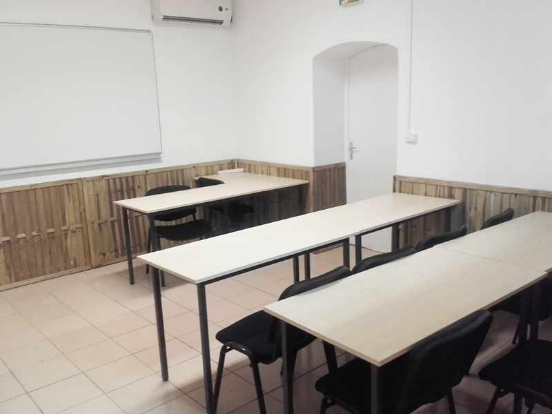 présentation de la salle de cours numéro 2 de FFSR