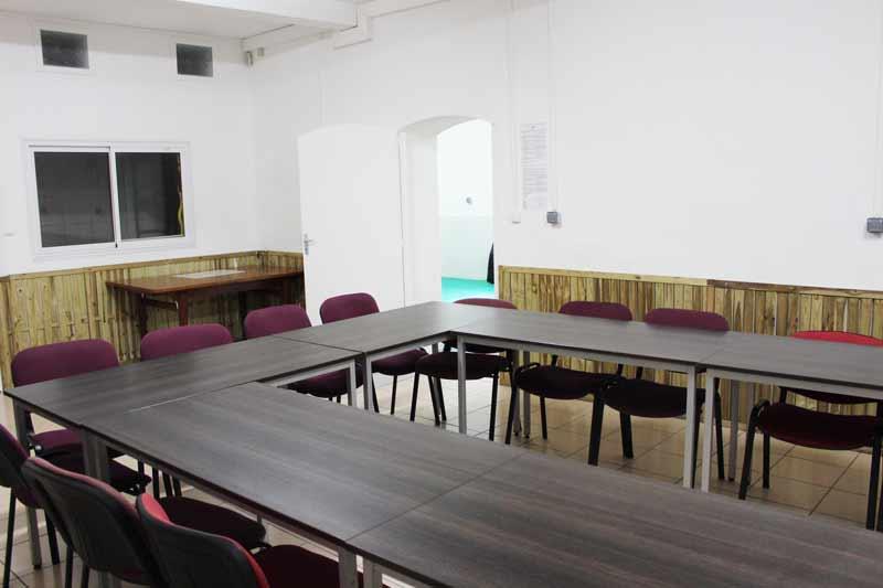 presentation de la salle de cours numero 3 du centre de formation
