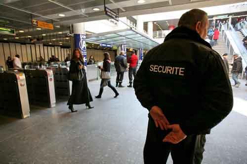 photo d'agent de sécurité CQP APS